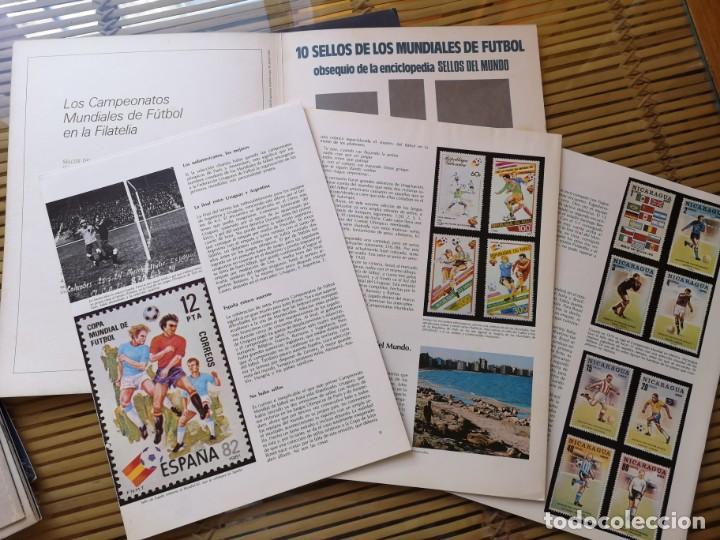 Sellos: FASCICULO COLECCIONABLE DE LOS MUNDIALES DE FUTBOL EN LA FILATELIA - Foto 2 - 156893490
