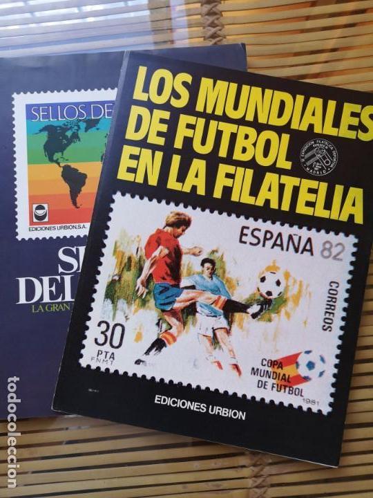FASCICULO COLECCIONABLE DE LOS MUNDIALES DE FUTBOL EN LA FILATELIA (Filatelia - Sellos - Catálogos y Libros)