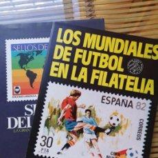 Sellos: FASCICULO COLECCIONABLE DE LOS MUNDIALES DE FUTBOL EN LA FILATELIA . Lote 156893490