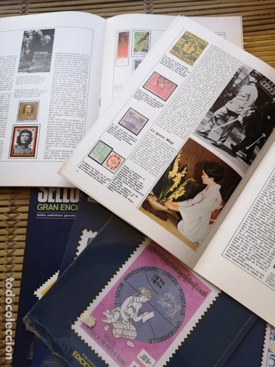 Sellos: 9 FASCICULOS (DE SELLOS DEL MUNDO )EDICIONES URBION ,AÑOS 80 - Foto 5 - 157125406