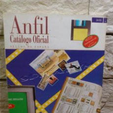 Sellos: ANFIL - CATALOGO OFICIAL SELLOS - SELLOS DE ESPAÑA - HASTA 1995 - 7ª EDICIÓN - BUEN ESTADO -. Lote 157757394