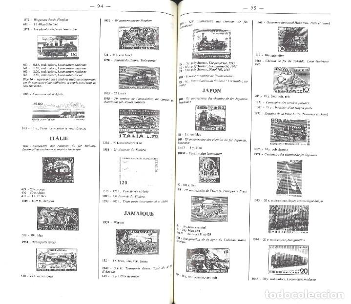 Sellos: Catálogo mundial ilustrado de sellos ferroviarios. Timbres ferroviaires. 1986 - Foto 2 - 160047830