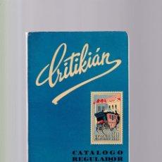 Sellos: CATÁLOGO REGULADOR CRITIKIAN - ESPAÑA, PROVINCIAS AFRICANAS Y EX-COLONIAS / 1964. Lote 160262058