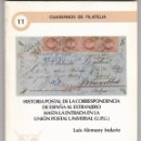 Sellos: HISTORIA POSTAL DE LA CORRESPONDENCIA DE ESPAÑA AL EXTRANJERO HASTA LA ENTRADA EN LA UPU. Lote 160456706