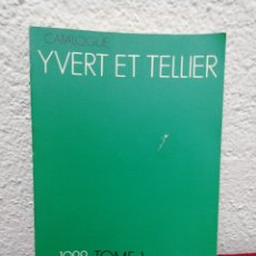 Sellos: CATALOGUE YVERT ET TELLIER. 1988 TOME 1. TIMBRES DE FRANCE.. Lote 162221820