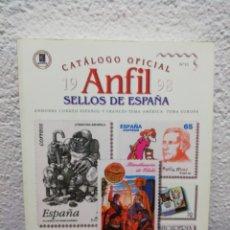 Sellos: CATÁLOGO OFICIAL ANFIL 1998. N° 10. SELLOS DE ESPAÑA. Lote 162224220