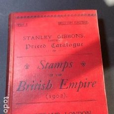 Sellos: STAMPS OF THE BRITISH EMPIRE- 1902. Lote 163485146