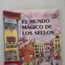 Sellos: EL MUNDO MÁGICO DE LOS SELLOS ILUSTRACIONES PILAR IN BAYES PRIMERA EDICIÓN AÑO 2000. Lote 164051010
