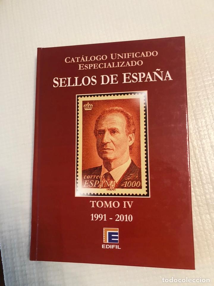 CATÁLOGO ESPECIALIZADO EDIFIL 1991 A 2010. TOMO IV (Filatelia - Sellos - Catálogos y Libros)