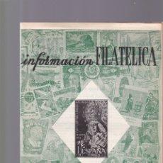 Selos: INFORMACION FILATELICA - Nº 24 / JUNIO-JULIO 1964 - ILUSTRADA. Lote 165186154