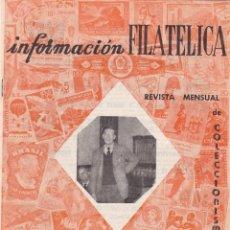 Selos: INFORMACION FILATELICA - Nº 23 / MAYO 1964 - ILUSTRADA. Lote 165186454