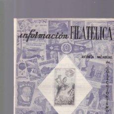 Selos: INFORMACION FILATELICA - Nº 22 / ABRIL 1964 - ILUSTRADA. Lote 165186570