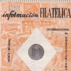 Francobolli: INFORMACION FILATELICA - Nº 21 / MARZO 1964 - ILUSTRADA. Lote 165186742