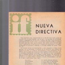 Sellos: INFORMACION FILATELICA - DICIEMBRE 1967 - ILUSTRADA. Lote 165189026