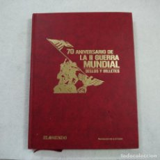 Sellos: 70 ANIVERSARIO DE LA II GUERRA MUNDIAL. SELLOS Y MONEDAS - EL MUNDO - 2009 - COMPLETO. Lote 165490210