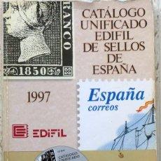 Sellos: FOTO 945 - CATALOGO EDIFIL 1997, USADO. Lote 165866290