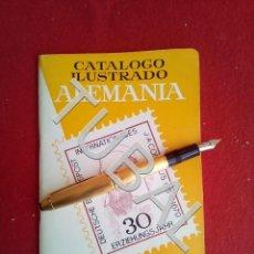 Sellos: TUBAL CATALOGO ILUSTRADO ALEMANIA FILATELIA RICARDO DE LAMA FOTOS Y PRECIOS EN B/N 1971/72. Lote 166026146