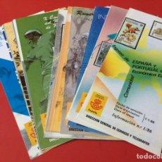 Sellos: AÑO 1986---- 24 FOLLETOS INFORMATIVOS SERVICIO FILATELICO CORREOS. Lote 166027026