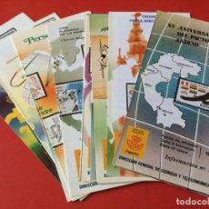 Sellos: AÑO 1985---- 22 FOLLETOS INFORMATIVOS SERVICIO FILATELICO CORREOS. Lote 166027222