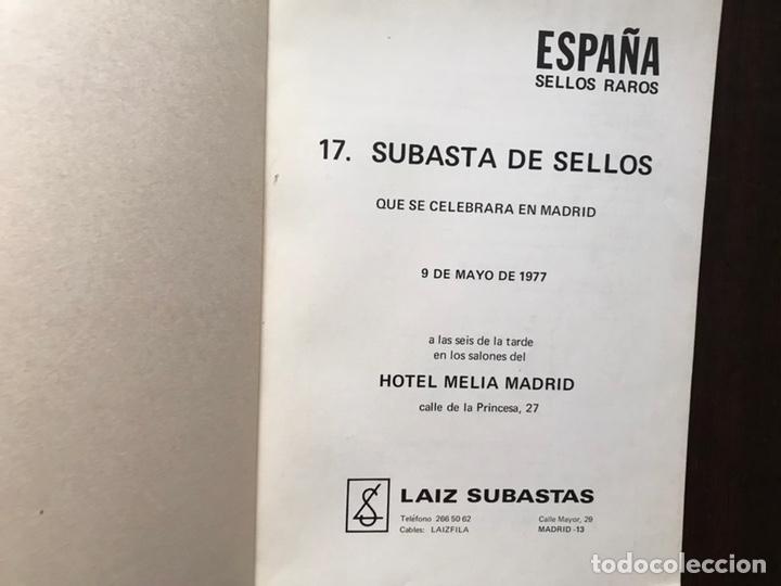 Sellos: España sellos raros. 9 de mayo 1977. Laiz subastas - Foto 2 - 167970468