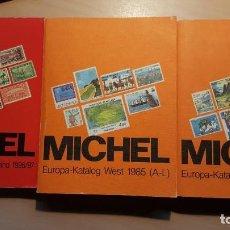 Sellos: CATÁLOGOS MICHEL ALEMANIA Y EUROPA. Lote 168427432