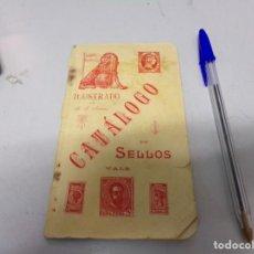 Sellos: ANTIGUO CATALOGO 1897 PRIMERA EDICION SELLOS ESPAÑA Y COLONIAS LAS IMAGENES SON GRABADO. Lote 168561684