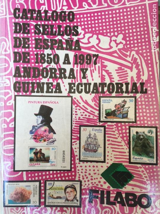 CATÁLOGO SELLOS ESPAÑA FILABO 1997 (Filatelia - Sellos - Catálogos y Libros)