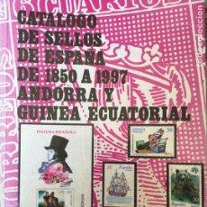 Sellos: CATÁLOGO SELLOS ESPAÑA FILABO 1997. Lote 168584449