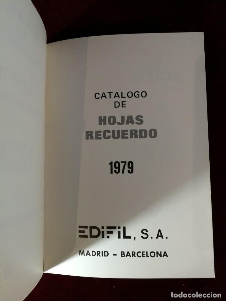Sellos: Catálogo de Hojas Recuerdo - Edifil - Año 1979 - Foto 2 - 168986780