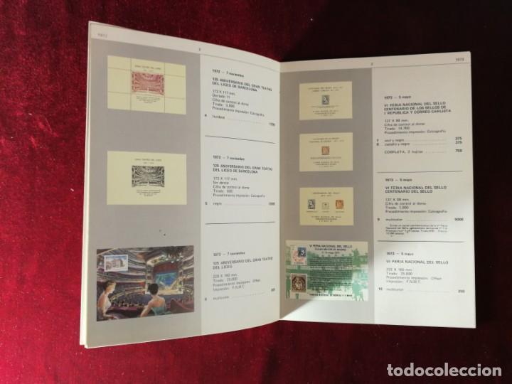 Sellos: Catálogo de Hojas Recuerdo - Edifil - Año 1979 - Foto 3 - 168986780