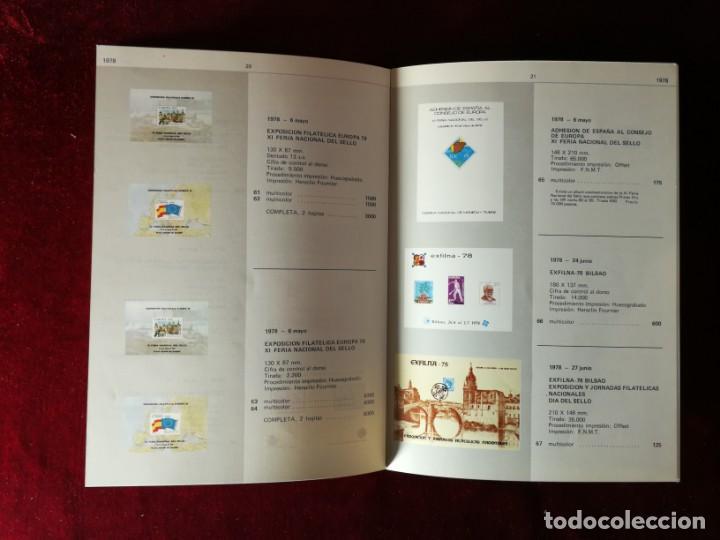 Sellos: Catálogo de Hojas Recuerdo - Edifil - Año 1979 - Foto 5 - 168986780