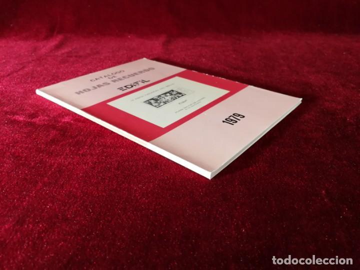 Sellos: Catálogo de Hojas Recuerdo - Edifil - Año 1979 - Foto 6 - 168986780