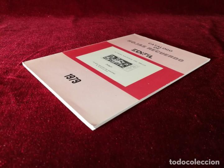 Sellos: Catálogo de Hojas Recuerdo - Edifil - Año 1979 - Foto 7 - 168986780