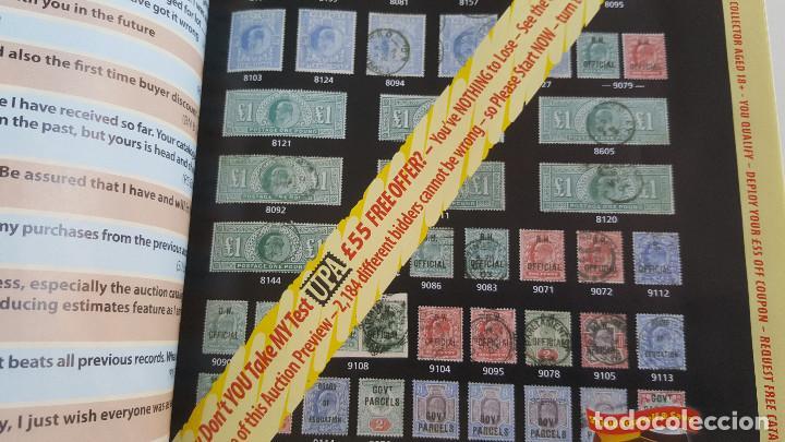 Sellos: DOS REVISTAS Y O CATALOGOS SELLOS BRITANICOS STAMP MAGAZINE - Foto 8 - 169230540