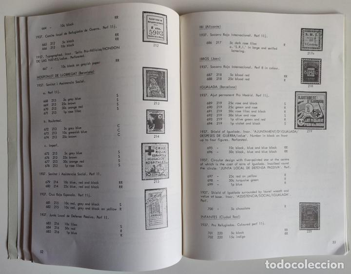 Sellos: THE REPUBLICAN LOCAL WAR TAX STAMPS 1936-1939 Spanish Philatelic Society Bookclub Nº9. F. Gómez-Guil - Foto 7 - 170148150