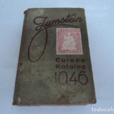 Sellos: INTERESANTE LIBRO SELLOS FILATELIA EUROPA CATALOGO ALEMAN 1946 ZUMSTEIN . Lote 170211700