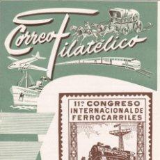 Sellos: CUADERNOS DE FILATELIA -CORREO FILATÉLICO - VALENCIA FILATÉLICA Nº 11. Lote 170348668