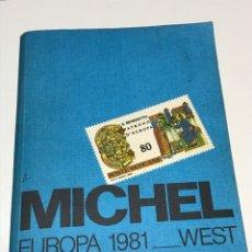 Sellos: MICHEL EUROPA 1981 FILATELIA WEST. Lote 172798023