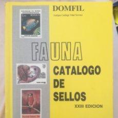 Sellos: FAUNA CATALOGO DE SELLOS.. Lote 174223060