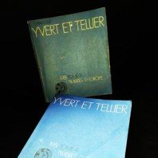 Sellos: CATÁLOGO CATALOGUE YVERT ET TELLIER 1981 TIMBRES D EUROPE TOMO 3 TOMO 4. Lote 175204665