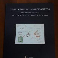 Sellos: CATALOGO A PRECIO NETO SOLER Y LLACH DE SELLOS ESPAÑA Y EX-COLONIAS.SEPTIEMBRE 2019.. Lote 176286320