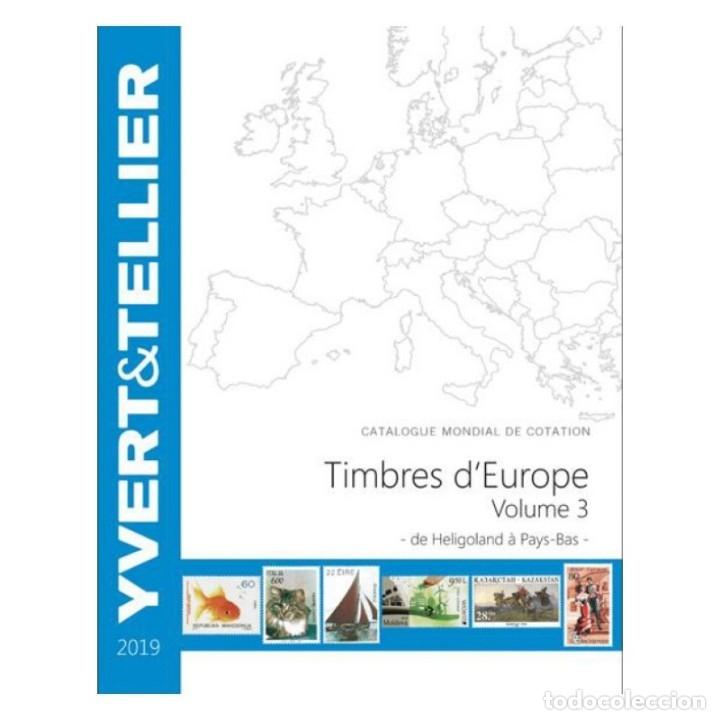 CATÁLOGO YVERT DE EUROPE VOLUME 3 - 2019 (CATALOGUE DES TIMBRES DES PAYS D´EUROPE DE H À P) (Filatelia - Sellos - Catálogos y Libros)