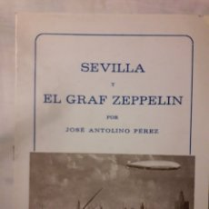 Francobolli: SEVILLA Y EL GRAF ZEPPELIN. Lote 176775040