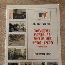 Sellos: TARJETAS POSTALES ANTIGUAS 1900-1930. FILATELIA SOLER. BARCELONA, 2002. . Lote 176861639