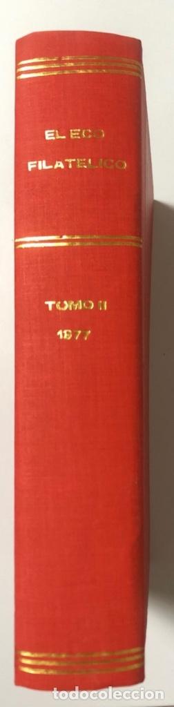 Sellos: EL ECO FILATELICO Y NUMISMATICO. EL TOMO INCLUYE DEL Nº 682 AL 693. AÑO XXXIII. NAVARRA, 1976. VER - Foto 3 - 177573170