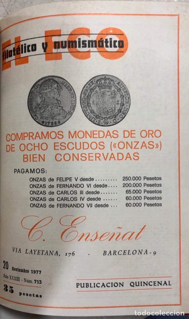 Sellos: EL ECO FILATELICO Y NUMISMATICO. EL TOMO INCLUYE DEL Nº 682 AL 693. AÑO XXXIII. NAVARRA, 1976. VER - Foto 13 - 177573170