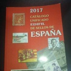 Sellos: CATALOGO SELLOS ESPAÑA 2017 EDIFIL. Lote 177692218