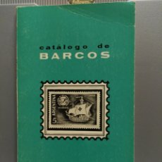 Francobolli: CATALOGO DE BARCOS. FILARRIBAS. AÑO 1968.. Lote 177741022