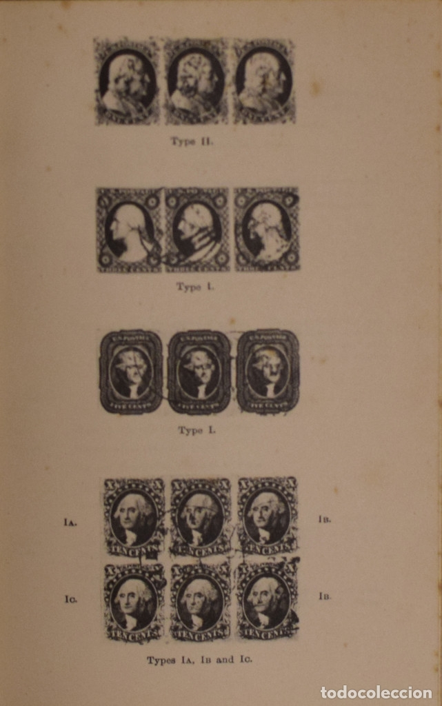 Sellos: A COMPREHENSIVE CATALOGUE OF THE POSTAGE STAMPS OF THE UNITED STATES OF AMERICA - N. E. WATERHOUSE - Foto 2 - 177776922