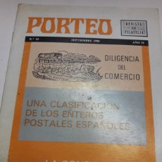 Sellos: REVISTA DE FILATELIA PORTEO N 14 1980. Lote 178042748